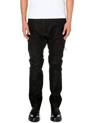 ALEXANDRE PLOKHOV Leather flight trousers