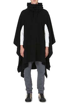 ALEXANDRE PLOKHOV Draped wool-cashmere poncho