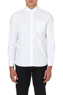OAMC Contrast-panel cotton shirt
