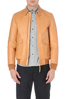 OAMC Leather factory jacket