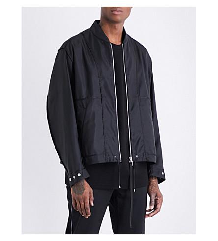 OAMC Reversible twill jacket (Black