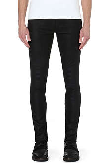 ISABEL BENENATO Leather biker trousers