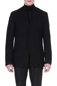 ISABEL BENENATO Seam-detail wool-blend blazer