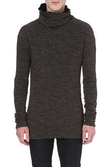 ISABEL BENENATO Roll-neck knitted jumper