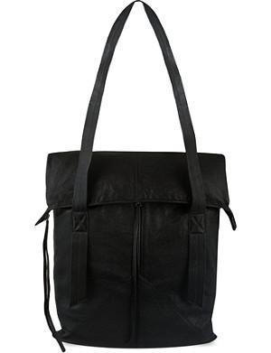 ISABEL BENENATO Leather shoulder bag