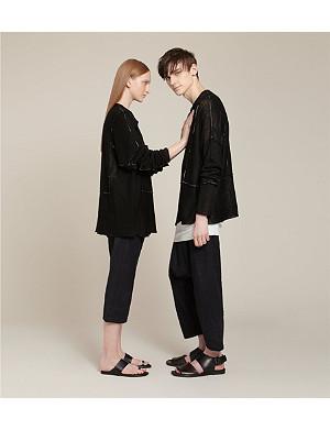 ISABEL BENENATO Linen jumper