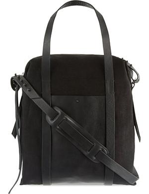 ISABEL BENENATO Canvas shoulder bag