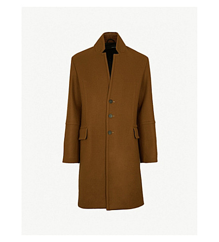 ISABEL BENENATO Seam-detailed wool coat (Saturno