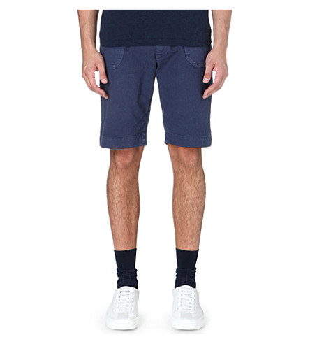 45 RPM Cotton chino shorts (Navy