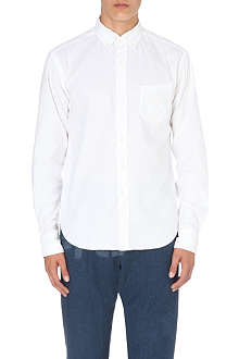 45 RPM Patch pocket oxford shirt