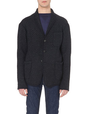 45 RPM Herringbone wool jacket