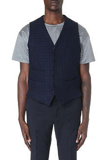 CASELY-HAYFORD Cairn classic check waistcoat