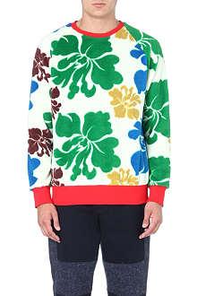 CASELY-HAYFORD 70s floral print sweatshirt
