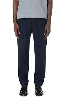 CASELY-HAYFORD Hungerford wool-blend trousers