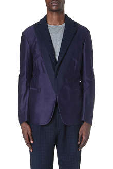 CASELY-HAYFORD Langley knit-detail jacket