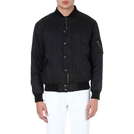 CASELY-HAYFORD Lambton quilted bomber jacket (Black