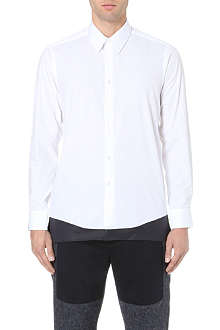 CASELY-HAYFORD Avery elongated cotton shirt