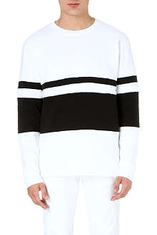JOE CASELY-HAYFORD Double stripe sweatshirt