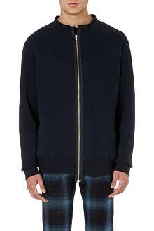 CASELY-HAYFORD Archive zip-front sweatshirt