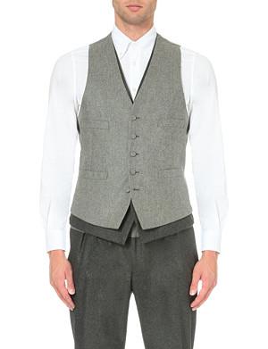 LARDINI Double-layered waistcoat