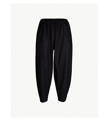 TOOGOOD The Acrobat dropped-crotch regular-fit wide wool and cashmere-blend trousers (Flint