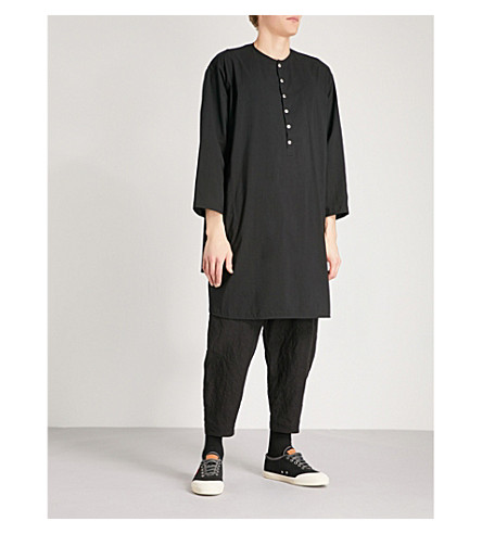 TOOGOOD Baker oversized cotton shirt (Coal