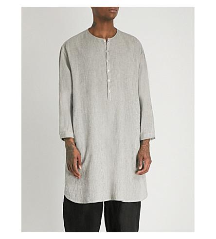 TOOGOOD Baker striped oversized cotton shirt (Coal
