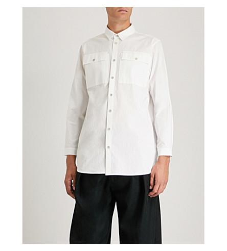 TOOGOOD Coalminer relaxed-fit cotton-blend shirt (Chalk
