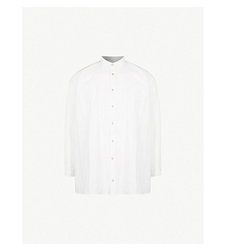 TOOGOOD Draughtsman oversized woven shirt (Milk