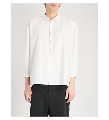 TOOGOOD Draughtsman oversized woven shirt (Milk