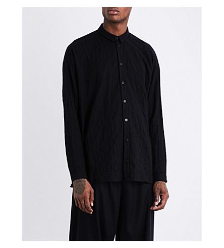 TOOGOOD Draughtsman regular-fit cotton-blend shirt (Flint