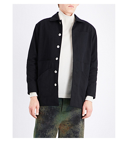 TOOGOOD The Gamekeeper cotton-poplin jacket (Flint