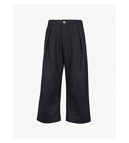 TOOGOOD The Tinker regular-fit high-rise wool trousers (Flint