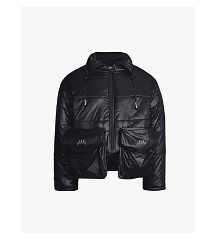 A-COLD-WALL Pocket-embellished adjustable shell jacket (Black