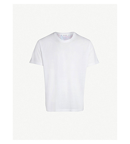 CRAIG GREEN Vibrating floral-print cotton-jersey T-shirt (Purple
