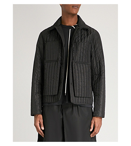 CRAIG GREEN Quilted shell jacket (Black