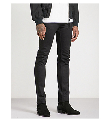 THE SOLOIST Star slim-fit skinny jeans (Black