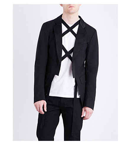 THE SOLOIST Tailored-fit wool jacket (Black