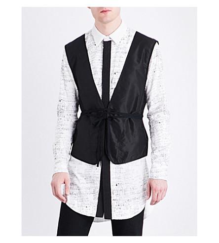 THE SOLOIST Tangled Up silk vest (Black