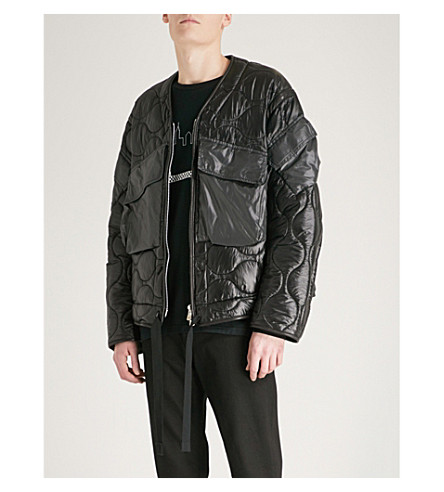 THE SOLOIST Quilted shell jacket (Black