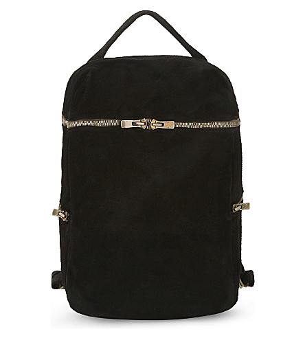 GUIDI Horse leather backpack (Black