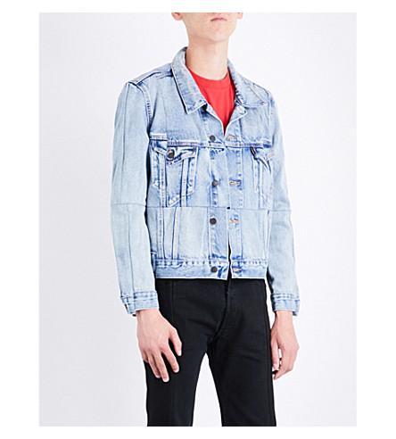 VETEMENTS Vetements x Levi's reworked denim jacket (Blue