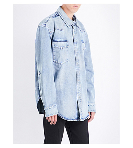 VETEMENTS Vetements x Levi's denim shirt (Blue