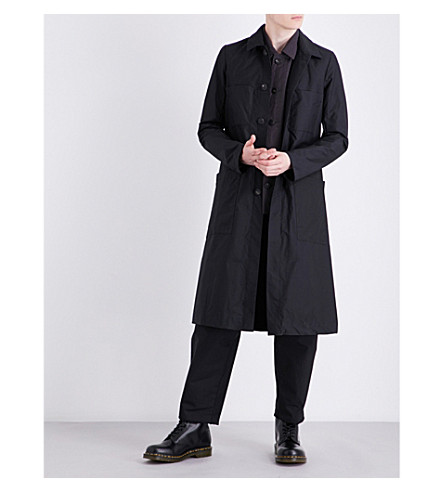A DICIANNOVEVENTITRE 1923 Worker cotton coat (Blk