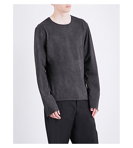 A DICIANNOVEVENTITRE 1923 cotton sweatshirt (Grey