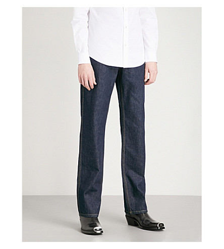 CALVIN KLEIN 205W39NYC Regular-fit wide jeans (Blue