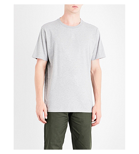MAINS Relaxed-fit cotton-jersey T-shirt (Grey