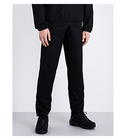 MAINS Track cotton-drill jogging bottoms (Black