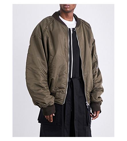 JUUN J Archive shell bomber jacket (Khaki