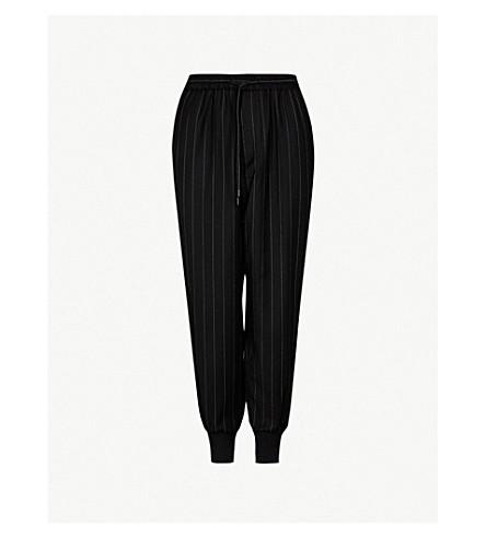 JUUN J Jj ctrs stripe drawstring (Black